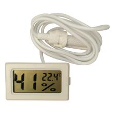 Термометр-гигрометр электронный с щупом на проводе