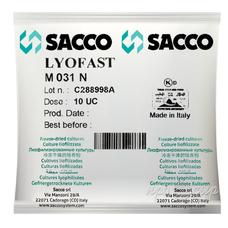 Мезофильно-термофильная закваска Sacco M 030/031/032/036N 10U